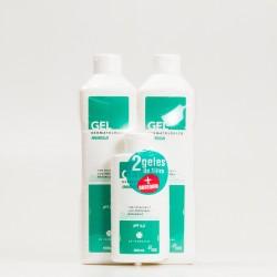 Inibsa gel dermatológico pack viaje