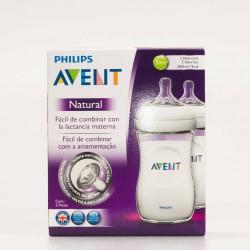 Avent Philips 2 Biberones Natural 260 ml.