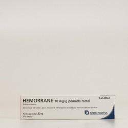 Hemorrane 1% Pomada, 30G.