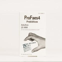 PROFAES4 probióticos adulta 25mm, 30cáps.
