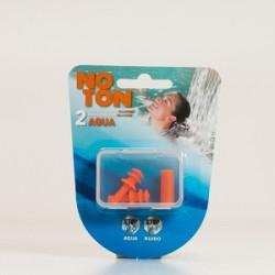 Noton Aqua Silicone Ear Plugs, 2Pcs.