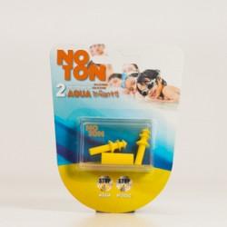 Noton Aqua Earplugs Silicone infantil, 2Pcs.