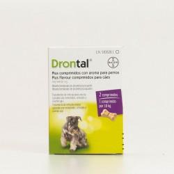 Drontal Plus Perros Sabor, 2 comprimidos