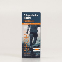 Fotoprotector Isdin Fusion Gel Body SPF50+, 100ml