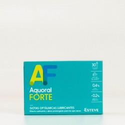 Aquoral Forta Gotas Oftalmicas Lubricantes, 30 Monodosis.