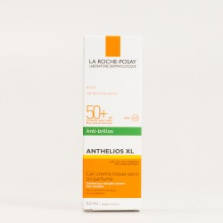 Anthelios XL Anti brillos SPF50+ sin perfume, 50ml.