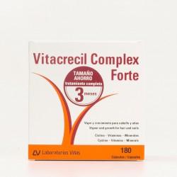 Vitacrecil Complex Forte, 180 cápsulas.