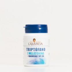 TRIPTOFANO CON MELATONINA + MAGNESIO Y VIT B6 60 COMP