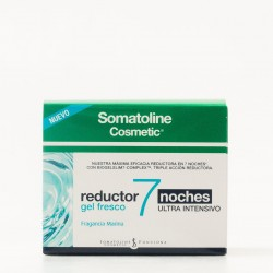 Somatoline Cosmetic reductor 7 noches gel fresco ultra intensivo, 400ml.