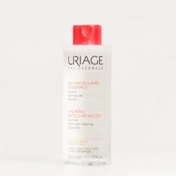 Uriage agua termal micelar pieles sensibles con rojeces, 500ml.