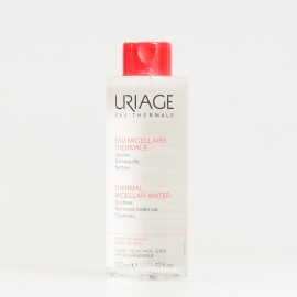 Uriage agua termal micelar pieles sensibles con rojeces, 500ml.