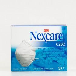 Nexcare Mascarilla Filtrante, 5U.