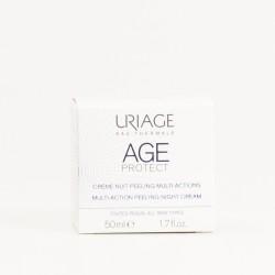 Uriage Age Protect Crema Noche Peeling, 50ml.