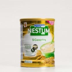 Nestlé Nestum Papilla 5 Cereais, 600g.